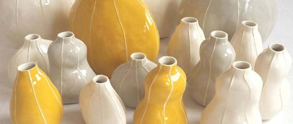 Torso And Pod Vases Vit Ceramics