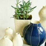 VIT ceramics; handmade modern vases, lamps and home decor. Kri Kri Studio Seattle